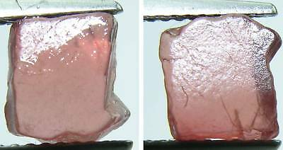 Natural Uncut Rough Light Red Spinel Gemstone 2.45Ct 27