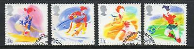 GB 1988 Sports Organisations fine used set stamps