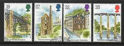 GB 1989 Industrial archaeology fine used set stamps