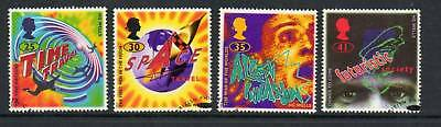 GB 1995 Science Fiction fine used set stamps