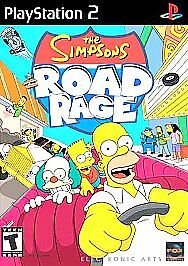 The Simpsons Road Rage (Playstation 2)