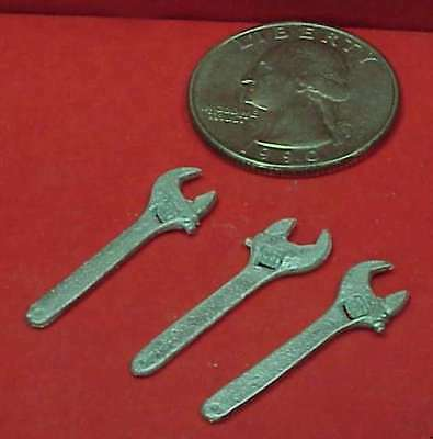 Gdp15 Wiseman Modelservices G Scale Or 1:20.3 Detail Parts: Adjustable Wrenches