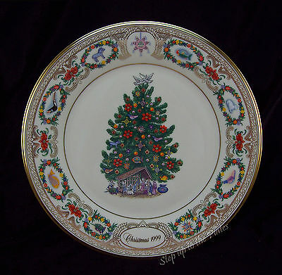 Lenox China MEXICO 1999 Christmas Trees Around the World Collector Plate /s