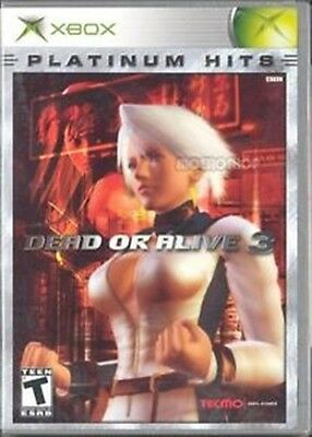 Dead or Alive 3 (Xbox, 2003) NEW/SEALED + Free S&H
