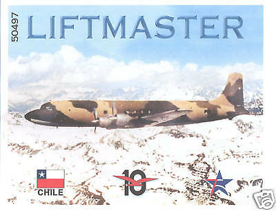 Monograph - Chile Air Force Liftmaster DC-6 C-118 (MN5)