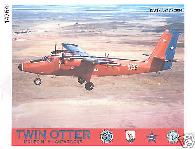 Monograph - Chile Air Force Twin Otter Antarctica (MN1)