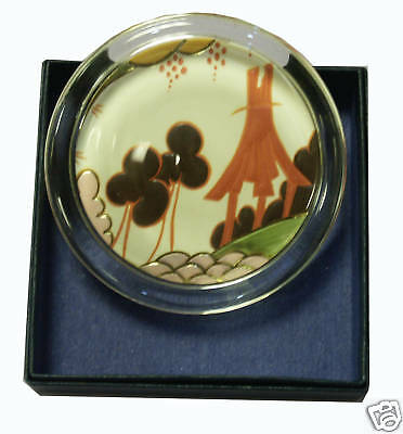 Clarice Cliff Large Paperweight - Summerhouse