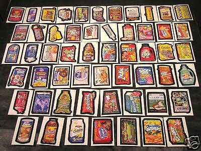 2004 Topps Wacky Packages ANS1 Series 1 COMPLETE BASE SET of 55 stickers nm+