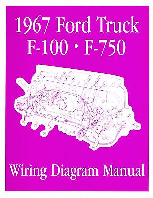 vehicle parts & accessories 1963 ford f100-f750 truck wiring manual other  car manuals
