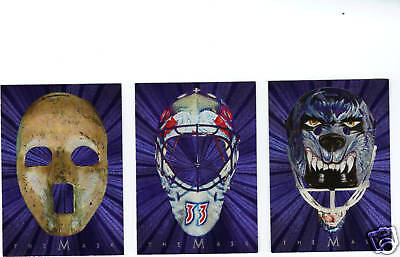 01 02 BE A PLAYER BETWEEN THE PIPES CURTIS JOSEPH MASK