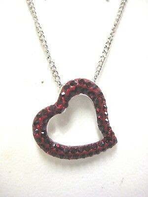 Heart truth red crystal pendant necklace swarovski jewelry retired heart truth red crystal pendant necklace swarovski jewelry retired 1039571 aloadofball Gallery