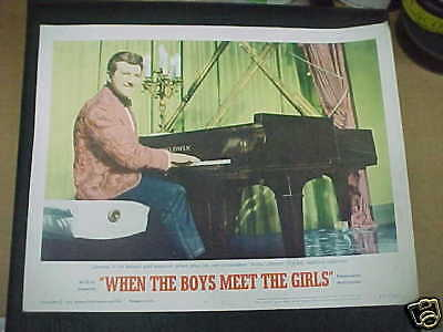 WHEN THE BOYS MEET THE GIRLS, 1965 LC #2 [Liberace plays the piano]