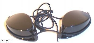 Solartan Sunbed Goggles (1 pair only) For use on a sunbed for safe tanning