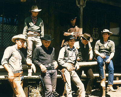 The Magnificent Seven 8X10 Photo All 7 Posing
