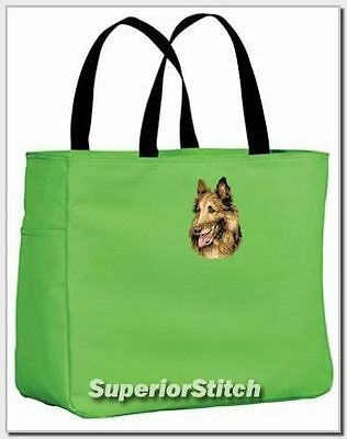 BELGIAN TERVUREN embroidered essential tote ANY COLOR