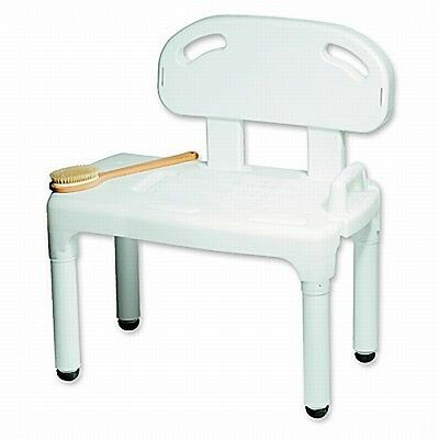 Carex Adjustable Transfer Shower Bath Chair Bench Seat