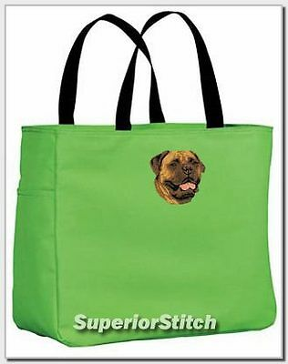 BULLMASTIFF embroidered essential tote bag ANY COLOR