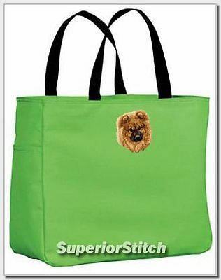 CHOW embroidered essential tote bag ANY COLOR
