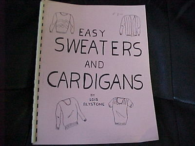 Easy Sweaters And Cardigans - Great Beginner Projects