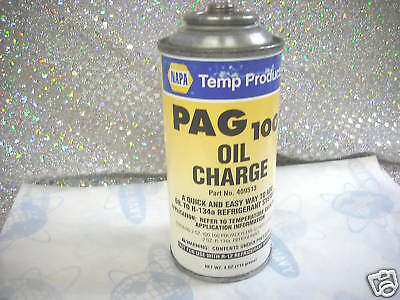 NAPA PAG 100 Oil Charge Part# 409513 For R134a