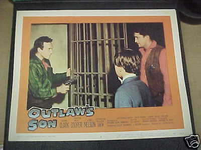 OUTLAW'S SON, orig 1957 LC #5 [Dane Clark]
