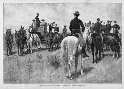 Horses, Wagon, Meeting Old Regiment, Infantry, Cavalry