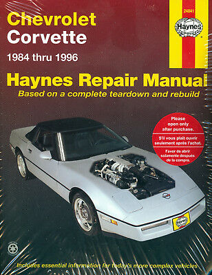 85 corvett repair manual product user guide instruction u2022 rh testdpc co 90 Vette 92 corvette service manual