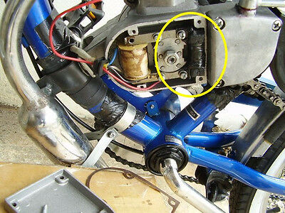 6 Volt Electrical Generator for Motorized Bicycle Light