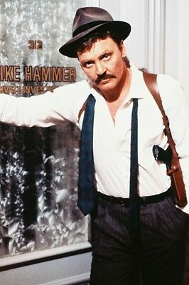 Mike Hammer Stacy Keach 24X36 Poster Print