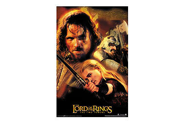 Lord of the Rings Two Towers Aragorn & Friends Poster