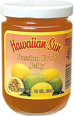 Hawaiian Sun Passion Fruit Jelly ~ 10 Oz