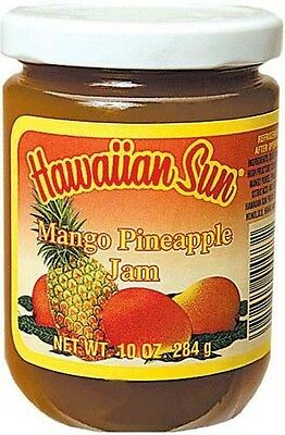 Hawaiian Sun Mango Pineapple Fruit Jam ~ 4 / 10 Oz
