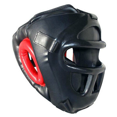 Boxing/Martial Arts Protective Face Gear Training- Grill Head Guard