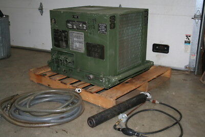 water chiller portable mobile gas potable engine 943