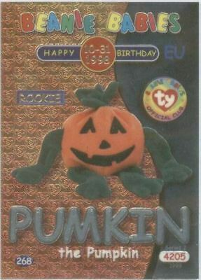 Ty Series 2 Birthday Card - EU European Silver Pumkin
