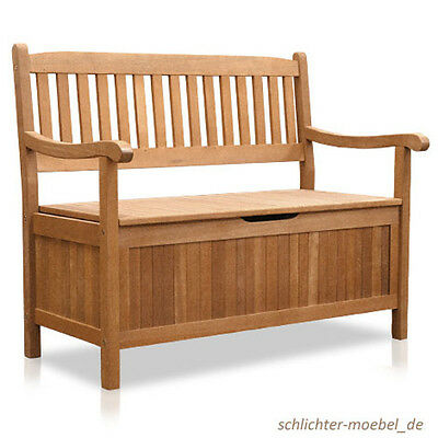 greena truhenbank truhe bank gartenm bel 3 sitzer eur 209 25 picclick de. Black Bedroom Furniture Sets. Home Design Ideas