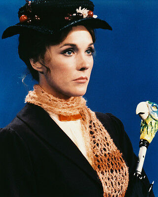 MARY POPPINS JULIE ANDREWS 8X10 PHOTO