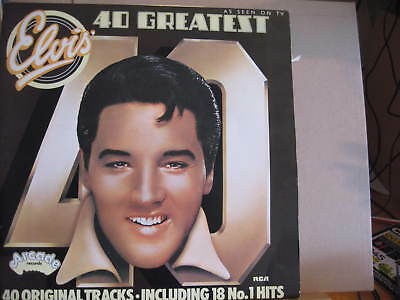 ELVIS PRESLEY 40 greatest 2LP set