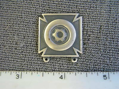 Obsolete U. S. Army issue Driver & Mechanic silveroxide badge, new never issued