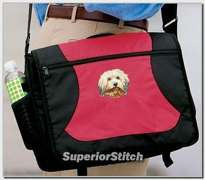HAVANESE embroidered messenger bag ANY COLOR