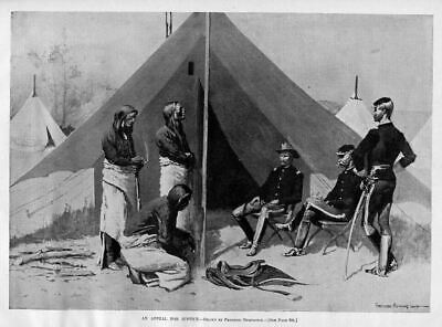 Frederic Remington Cheyenne Indians Appeal For Justice