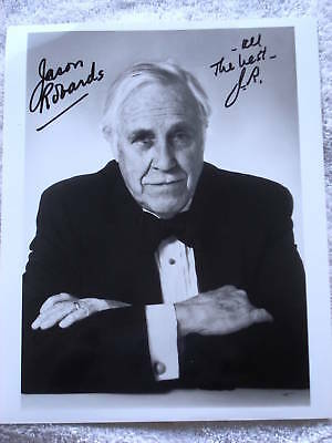 "Jason Robards Autographed 8"" X 10"" Photograph"