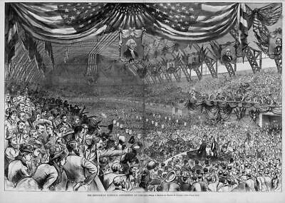 Chicago National Republican Convention 1880, Delegates