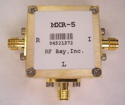 0.5-500MHz Level 10 Frequency Mixer, MXR-5, New, SMA