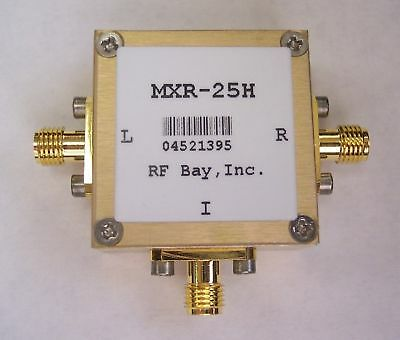 80-2500MHz Level 17 Frequency Mixer, MXR-25H, New, SMA