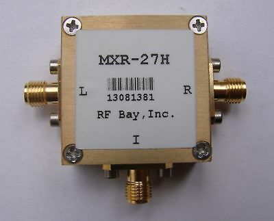 1-2700MHz Level 17 Frequency Mixer, MXR-27H, New, SMA
