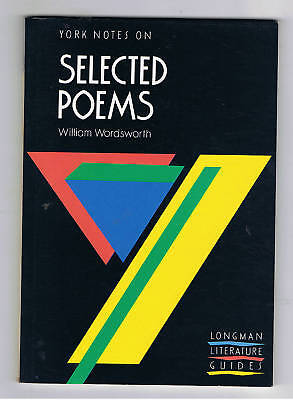 york notes of selected poems william wordsworth