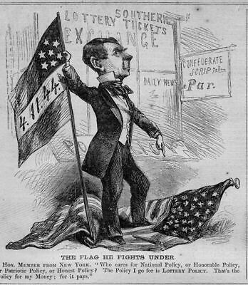 Southern Confederate Lottery Policy, New York Exchange