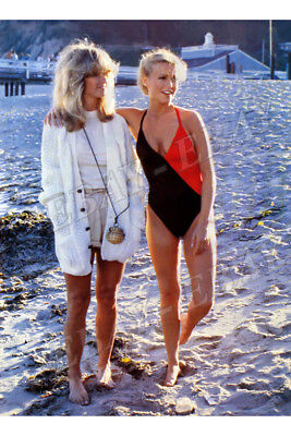 CHARLIE´S ANGELS: Cheryl, Farrah BATHING SUIT Photo.