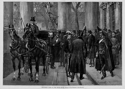 Horses Carriage, New Years At The White House, History